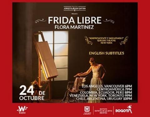 Flora Martinez dará vida al teatro Jorge Eliecer Gaitán