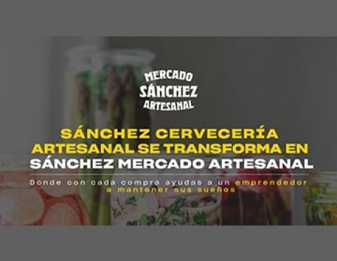 Canasta familiar artesanal en 'Mercado de Sánchez'