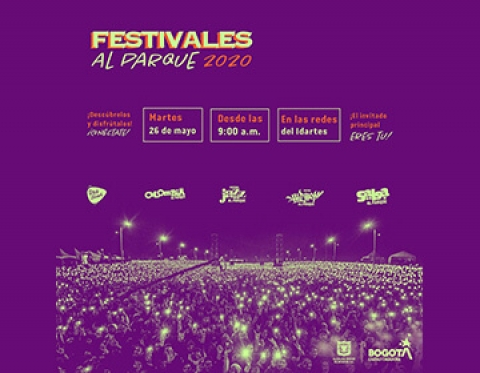 Los Festivales al Parque seguirán escribiendo  la historia musical de Bogotá