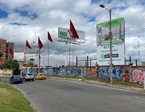 Arte urbano para todos en Bogotá