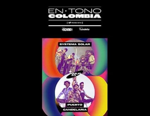 Puerto Candelaria de vuelta a los escenarios en el evento 'En Tono Colombia'