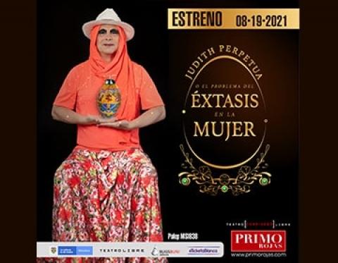 """Primo Rojas es """"Judith Perpetua o el problema del éxtasis en la mujer"""""""