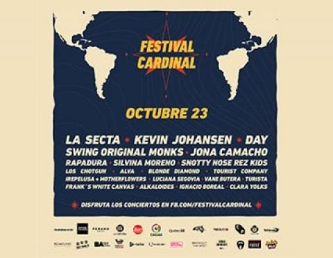 Festival Cardinal: encuentro digital y gratuito hecho por artistas americanos