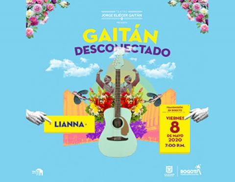 Lianna desconecta el Teatro Jorge Eliecer Gaitán