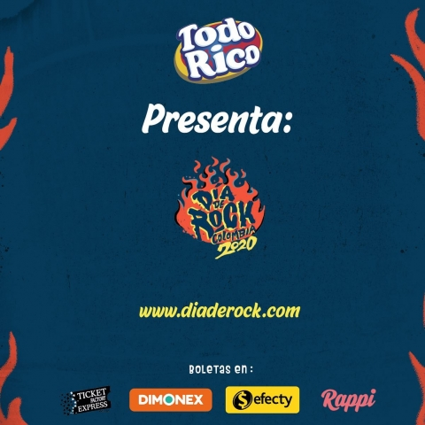 Menos de 50 días para la fiesta del rock colombiano #ElRockEsNuestro