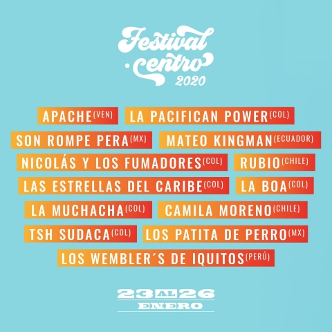 Festival Centro 2020, ¡imperdible¡