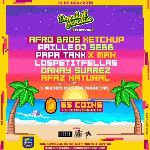 Más grande y con mejor cartel, llega el  Dancehall Paradise Fest