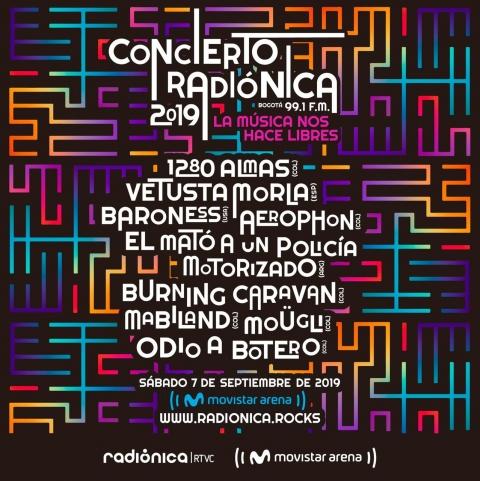 Concierto Radiónica 2019: ¡La música nos hace libres!