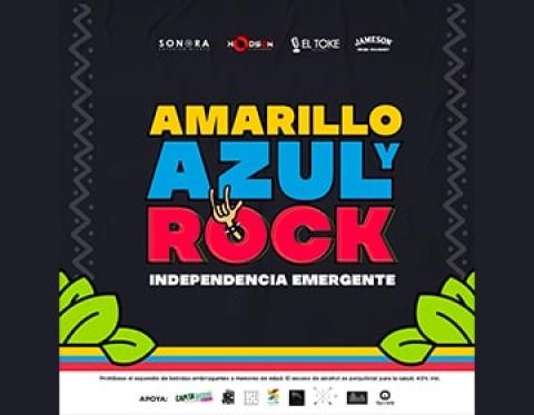 #AmarilloAzulYRock es homenaje emergente