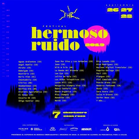 Los actos colombianos más prometedores estarán en Festival Hermoso Ruido